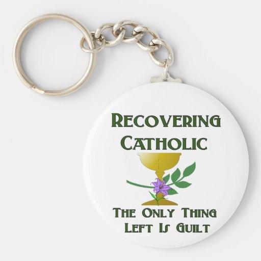 Recovering Catholic Key Chains