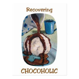 RECOVERING CHOCOHOLIC #2 POSTCARD
