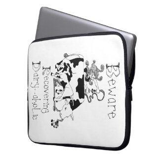 Recovering Dairy-aholic Laptop Sleeve