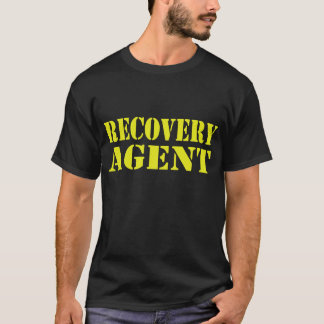 Recovery Agent Premium Black T-Shirt