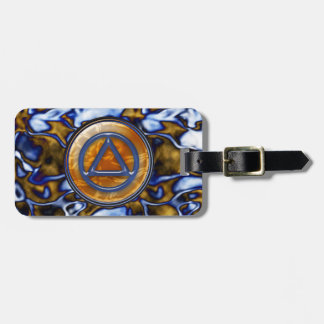 Recovery Sobriety Sober Luggage Tag