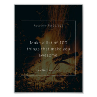 Recovery Tip #35 Poster