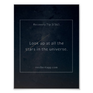 Recovery Tip #3 Poster