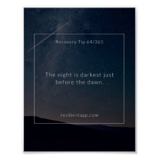 Recovery Tip #64 Poster