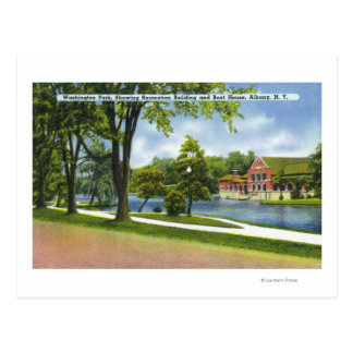 Recreation Bldg Boathouse Postcards