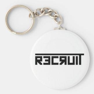 Recruit Keychain