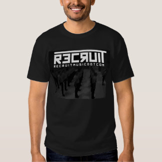 Recruit Men In Line T-Shirt