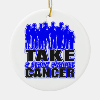 Rectal Cancer -Take A Stand Against Cancer Ornament