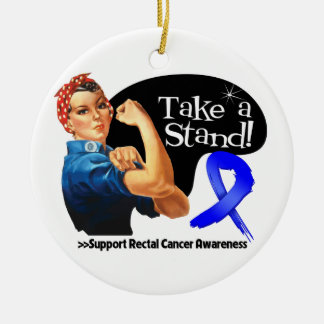Rectal Cancer Take a Stand Ornament