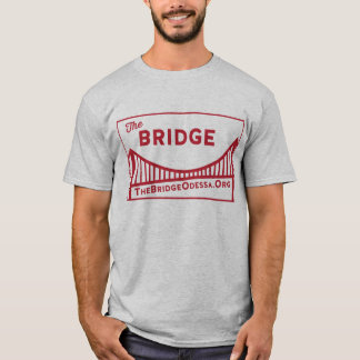 Rectangle Bridge Logo with website  dos T-Shirt