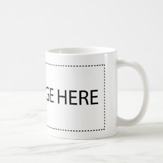 Rectangle Bumper Sticker Basic White Mug