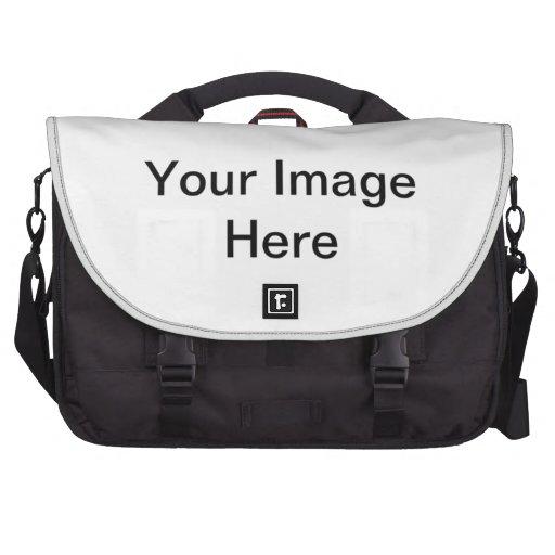 Rectangle Bumper Sticker Commuter Bags
