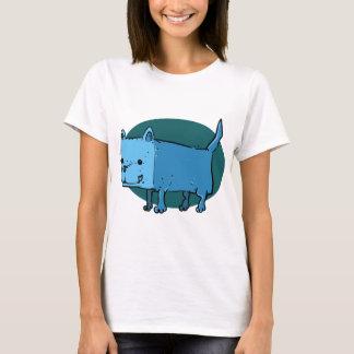 rectangle dog funny cartoon T-Shirt
