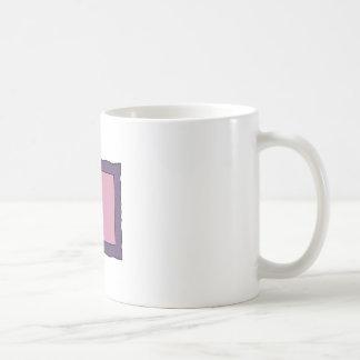 Rectangle Swirly Frame Coffee Mug