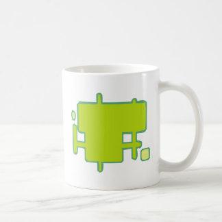 Rectangles of boxes coffee mug