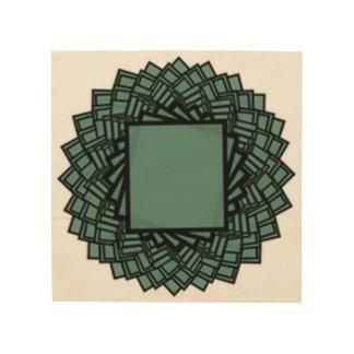 rectangles wood wall art