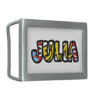 Rectangular clasp customized Julia Rectangular Belt Buckle
