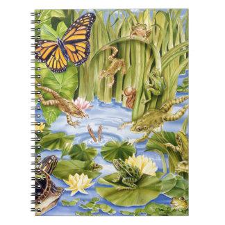 Rectangular Frog Notebook