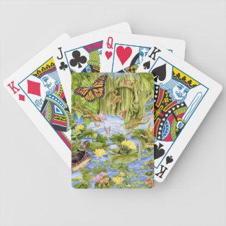 Rectangular Frog Poker Deck