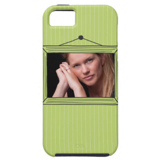 Rectangular handdrawn picture frame iPhone 5 cover