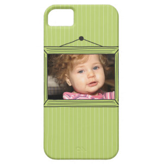 Rectangular handdrawn picture frame iPhone 5 cases