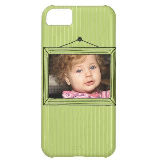 Rectangular handdrawn picture frame iPhone 5C case
