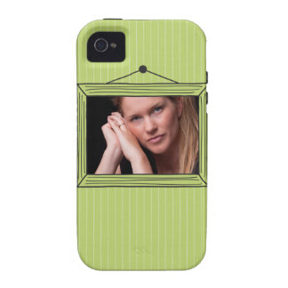 Rectangular handdrawn picture frame Case-Mate iPhone 4 case