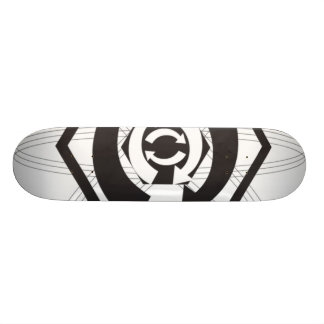recycle 20 cm skateboard deck
