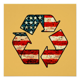 Recycle America Poster