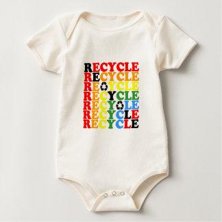 Recycle Baby Bodysuit