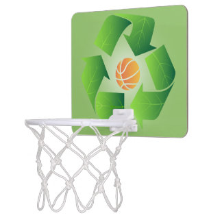 Recycle Basketball 3 -Mini Basketball Hoop