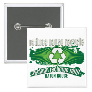 Recycle Baton Rouge Pins