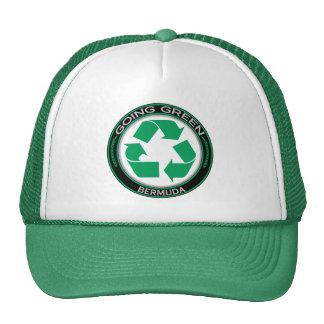 Recycle Bermuda Cap