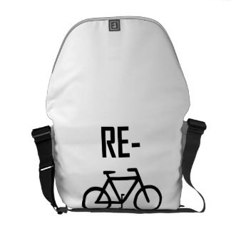 Recycle Bicycle Bike Messenger Bags