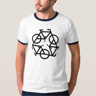 Recycle Bicycle Logo Symbol T-Shirt
