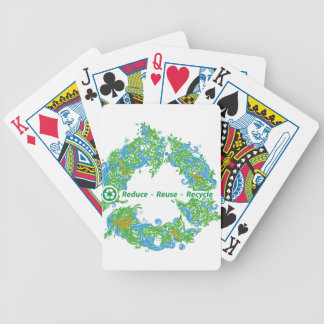 Recycle Bicycle Playing Cards