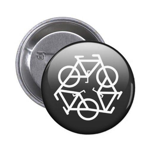 recycle black button by Petr Kratochvil