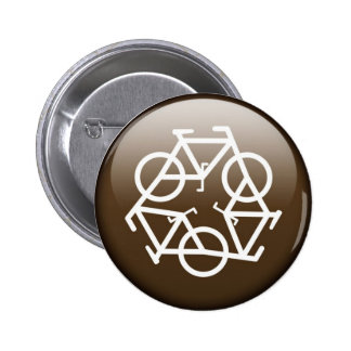 recycle button brown by Petr Kratochvil