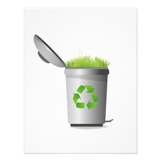 recycle can with grass eco design.png personalized invitation