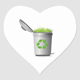 recycle can with grass eco design.png heart sticker