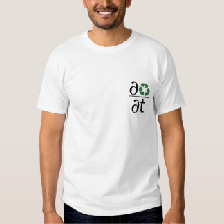 Recycle: Change Your Rate T-shirts