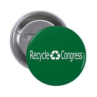 Recycle Congress Button