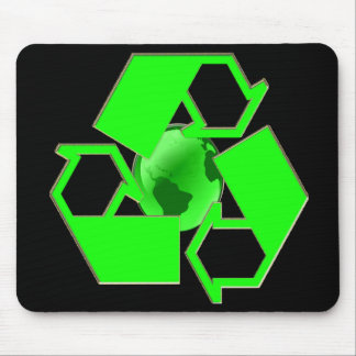 Recycle Earth 2- Save the Earth- Go Green Mouse Pad