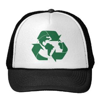 Recycle Earth Mesh Hats