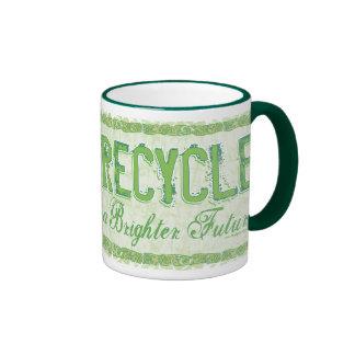 Recycle Earth Day Gear Coffee Mugs