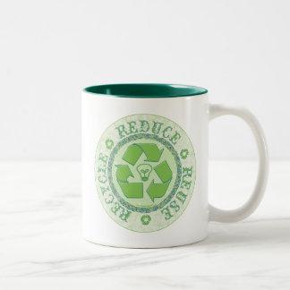 Recycle Earth Day Gear Mug