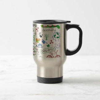 Recycle Eco Friendly Stainless Steel Travel Mug