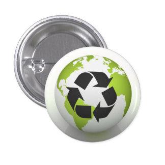 Recycle Environmental Button