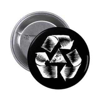 Recycle Eye Pin