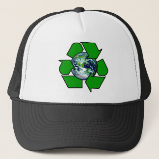 Recycle for Planet Earth Trucker Hat